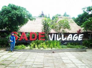 Kampung wisata Sade Lombok