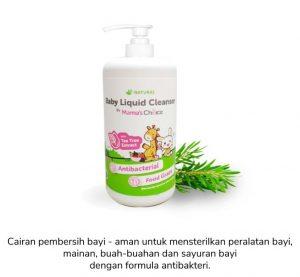 Liquid baby cleanser